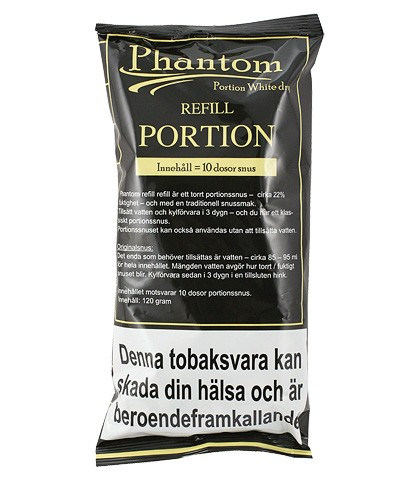 phantom white portion refill